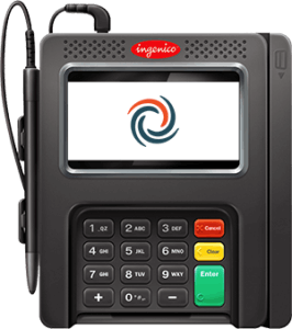 credit card terminal with pinpad